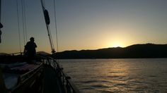 Gunay 1 sailing Gocek wonderful sunset every day...Turkey
