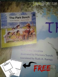 The Park Bench by Fumiko Takeshita *With Free Printable* - Simple At Home