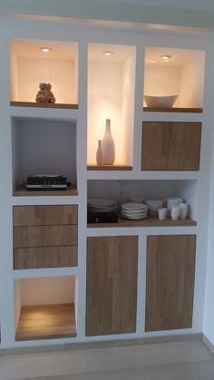 Duke's Woodworks » Vakkenkast met eiken deurtjes http://amzn.to/2qVhL6r