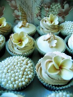 """Home Beautiful"" Magazine Cupcakes by kylie lambert (Le Cupcake), via Flickr"