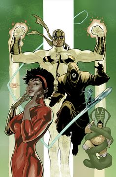 Misty Knight, Iron Fist, Prince of Orphans, Silver Surfer, and Fat Cobra