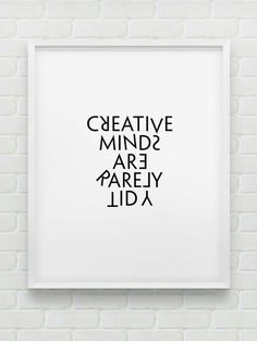 Creative minds...
