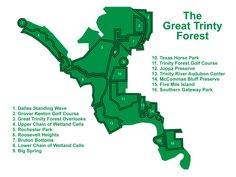 Here's some Dallas Forest vocabulary for everyone