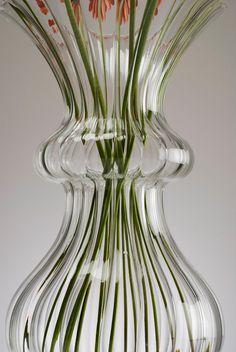Beautiful VASE - handmade glassware > interior design Find it on: www. Vases, Glass Vase, Interior Design, Handmade, Beautiful, Home Decor, Nest Design, Hand Made, Decoration Home