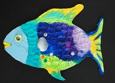 that artist woman: How to Make a Rainbow Fish