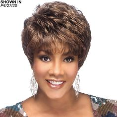 Shop short wigs that range from adorable pixie styles to vogue page boy looks. Our on-trend synthetic and short human hair wigs are ideal for most any face shape. Browse short hair wigs now! Short Hair Wigs, Curly Wigs, Human Hair Wigs, Long Hair, Thick Hair, Short Hair Cuts For Women, Short Hairstyles For Women, Wig Hairstyles, Black Hairstyles