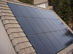 Solar power is a popular and safe alternative source of energy. In basic words, solar energy describes the energy created from sunlight. There are different approaches for harnessing solar energy f… Solar Energy Panels, Best Solar Panels, Solar Panel Shingles, Solar Roof Tiles, Solar Projects, Diy Projects, Solar House, Solar Panel Installation, Solar Charger