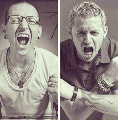 Chester  Bennington - Linkin Park - love his screaming!