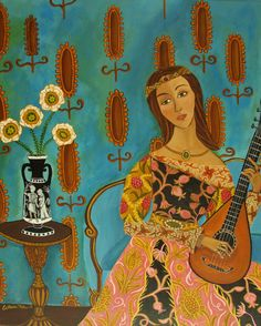 Catherine Nolin -- @Rachel Steele -- Pretty much all of this lady's paintings make me think of you;  and she's from Massachusetts, go fig. <3