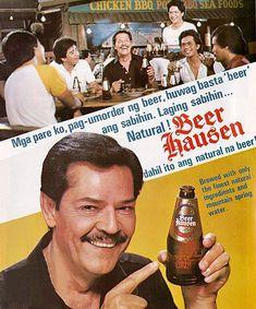 vintage pinoy ad 80s Ads, Retro Ads, Vintage Ads, Vintage Prints, Vintage Photos, 1980s, Beer Advertisement, Old Advertisements, Print Ads