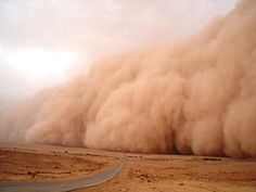 dust storm... seriously?! these things are crazy looking!