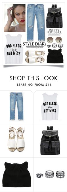 """""""Street Style"""" by madeinmalaysia ❤ liked on Polyvore featuring MANGO, LULUS and Prada"""