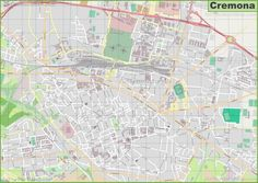 Large detailed map of Brescia Maps Pinterest Italy