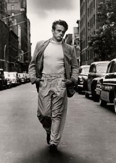 James Dean, por Roy Schatt, 1954