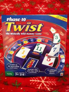 Mattel: Phase 10 Twist ~Wickedly Wild Rummy Game AGES 7+ Makers of Uno 2-6 Players | eBay Auction Starting @ $5.00