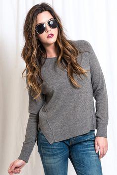 Eugenia Sweater in Grey