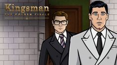 KINGSMAN 2 Archer meets Kingsman