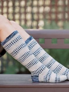 Use the slide-coloured Novita 7 Veljestä Korpi yarn together with the single-coloured, regular 7 Veljestä to create the exiting pattern for these socks. Rainbow Dog, Men In Heels, Foot Warmers, Red Green Yellow, Knitting Socks, Knit Socks, Knit Crochet, Pattern, Color