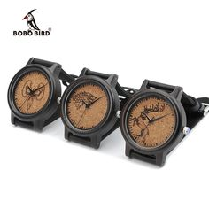 Find More Quartz Watches Information about BOBO BIRD Mens Black Wood Wrist Watches Genuine Leather Strap Japan Movement Quartz Watch Ideal Gifts for Men Relogio Masculino,High Quality gifts for men,China gift gifts Suppliers, Cheap gift japan from BOBOBIRD Store on Aliexpress.com
