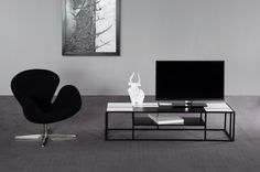 Tetris TV #TVstand #design by Lestrocasa Firenze #interiordesign #home #steel #modern #Lestrocasa