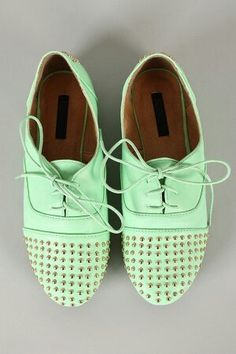 i love that color!!/ oxfords