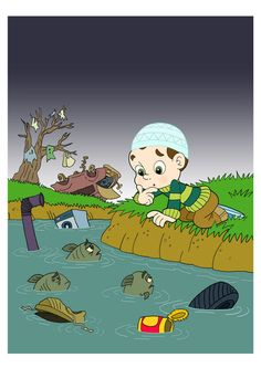 poster on pollution for kids Lessons For Kids, Projects For Kids, Water Pollution Poster, Science Activities, Activities For Kids, Pollution Environment, School Border, Drawing Projects, Kids Poster