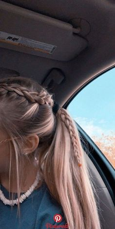 2019 Lindos Peinados con Trenzas – Fácil Paso a Paso 2019 Cute Hairstyles with Braids – Easy Step by Step More from my site Cute Little Girl Hairstyles Easy Braided Ponytail Hairstyles, Pretty Hairstyles, Hairstyle Ideas, Teen Hairstyles, Cute School Hairstyles, Wedding Hairstyles, Athletic Hairstyles, Braid In Ponytail, Volleyball Hairstyles