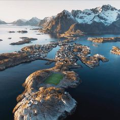 Amazing Soccer Pitch in Lofoten Islands, Norway - Imgur