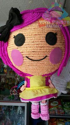 Nuevo modelo de piñata Lalaloopsy... en Viva Piñata Factory siempre estamos re diseñando nuestras piñatas para ustedes.