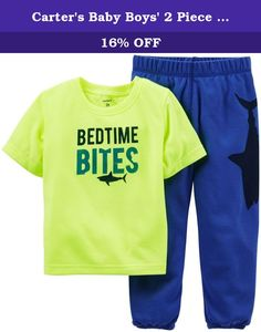 Carter's Baby Boys' 2 Piece Pant PJ Set (Baby) - Bedtime Bites - 24 Months. Carter's 2 Piece Pant PJ Set (Baby) - Bedtime Bites Carter's is the leading brand of children's clothing, gifts and accessories in America, selling more than 10 products for every child born in the U.S. Their designs are based on a heritage of quality and innovation that has earned them the trust of generations of families.