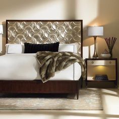 Silver Lining Queen Bed - Caracole