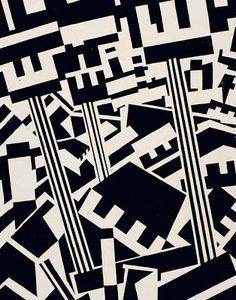 Both Edward Wadsworth & Percy Wyndham Lewis also had work exhibited at Leeds Art Gallery. Textures Patterns, Print Patterns, Wyndham Lewis, Leeds Art Gallery, Rotterdam, Illustration, Typography, Graphic Design, Graphic Art