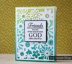 Words of Inspiration, Floral Fusion Cover-Up Die-namics - Laura Bassen #mftstamps