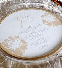 menu -round- inside plate