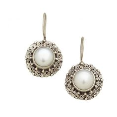 Have to get these to go with my necklace   Kathmandu Pearl Earrings - Earrings - Jewelry - Products