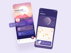 Habit and mode tracker app by Nasir Uddin Ui Design, Branding Design, Mobile App Design, Mobile Ui, Directory Design, Tracking App, Lose 20 Lbs, Get Tickets, Job Opening