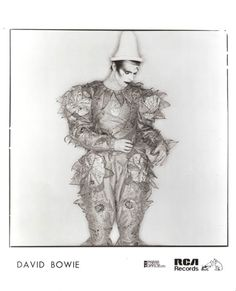 David Bowie - Scary Monsters, 1980 // Original RCA Records press still, Lady Stardust, Ziggy Stardust, Pierrot Costume, Lindsay Kemp, Brian Duffy, David Bowie Born, Space Boy, Aladdin Sane