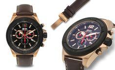 Brandt & Hoffman Swiss Chronograph Priestley Mens Watch