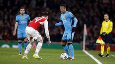 23.02.16 Arsenal 0 - 2 Barcelona !! #Neymar #Fcbarcelona ⚽❤