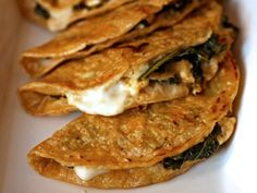 Kale and Feta Quesadillas