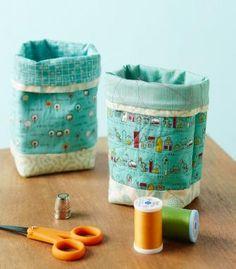 How to make a Thread Catcher Bag @ AllPeopleQuilt.com