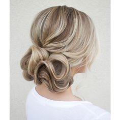 Modern waves updo