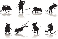 Mouse Silhouette Collection