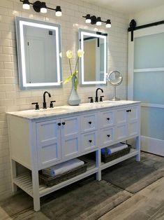 Bathroom Layout, Bathroom Interior Design, Small Bathroom, Bathroom Ideas, Master Bathrooms, Bathroom Organization, Bathroom Double Vanity, Bathroom Designs, Minimal Bathroom