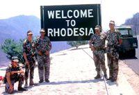 SA Police in Rhodesia