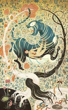 A Paper Bear Art Journal Tumblr   lohrien: Illustrations by Victo Ngai ...
