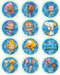 free bubble guppies birthday printables - Google Search