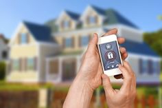 A smart home security system lets you be in complete control of your home security. Learn more about what it can do and how you can create your own system! Home Security Companies, Best Home Security System, Wireless Security System, Alarm Systems For Home, Smart Home Security, Security Solutions, Best Home Automation, Home Automation System, Alarm Monitoring