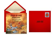 Plan a Dynamic Planes: Fire & Rescue Birthday Party! Start with a free online invitation.