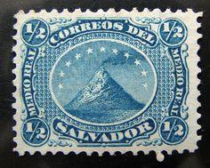 First Salvadorean postage stamp - 1867 by Neoslv - (M. G.), via Flickr